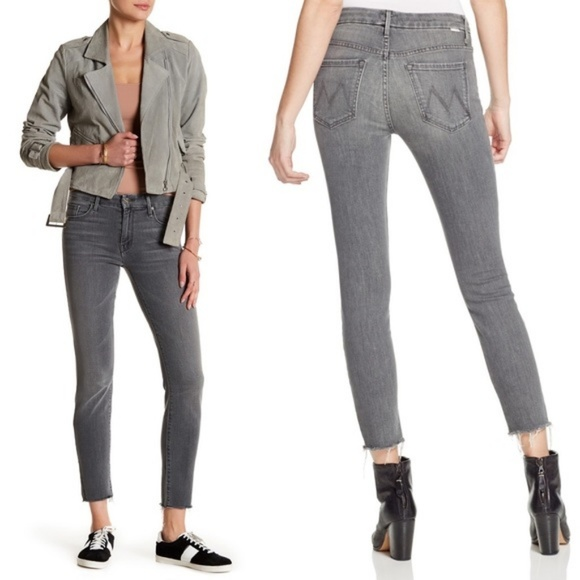 "MOTHER Denim - Mother ""The Looker"" Denim High Waisted Jeans"